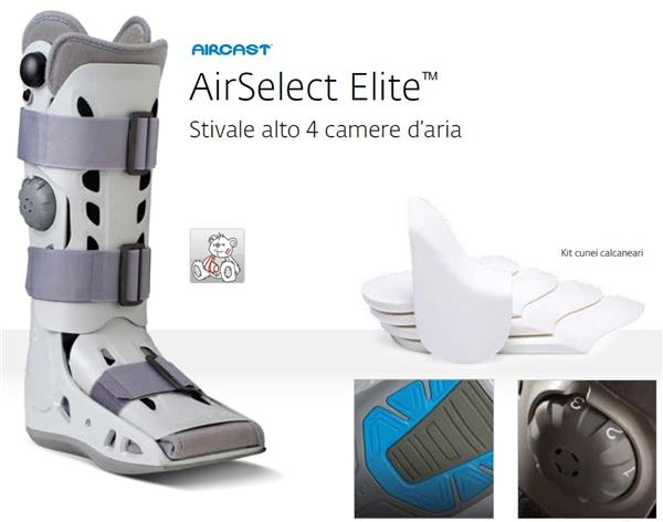 Stivale Aircast AirSelect Elite