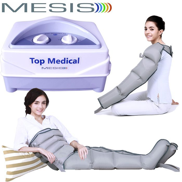 Pressoterapia Mesis Top Medical 2 gambali Kit estetico